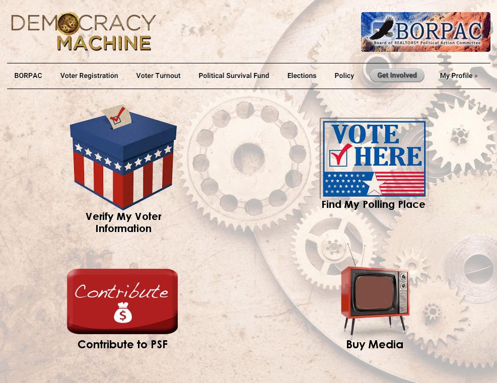Democracy Machine BORPAC